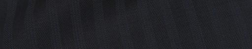 【Is_9w512】ダークネイビー1.1cm巾ブロークンヘリンボーン