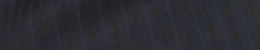 【Is_9w533】ダークブルーグレー柄+1.1cm巾ブルー・織り交互ストライプ