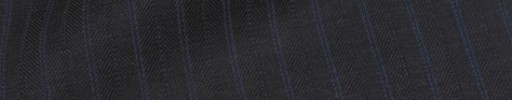 【Is_9w534】ダークグレー柄+1.1cm巾ブルー・織り交互ストライプ