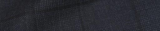 【Is_9w551】ダークブルグレー8.5×7cmチェック+黒プレイド