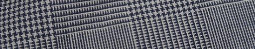 【Fb_af03】白・黒8.5×7cmグレンチェック