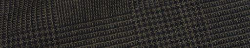 【Fb_af04】ブラウン・黒8.5×7cmグレンチェック