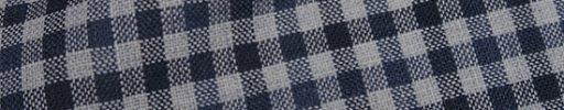 【Fb_af09】ライトグレー+2cmブルー・黒チェック