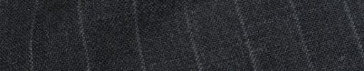 【Fb_af37】チャコールグレー+1.8cm巾ストライプ