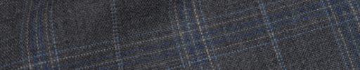 【Hs_9chs08】チャコールグレー+5.5×4cmライトブルー・ネイビー・白チェック