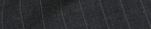【Hs_9chs13】チャコールグレー+1.3cm巾ストライプ