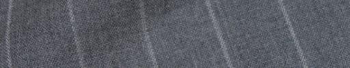 【Hs_9chs27】ライトグレー+2cm巾ボールドストライプ