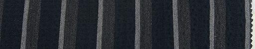 【Sup_s01】ネイビー・チャコール・ライトグレー2cm巾ストライプ