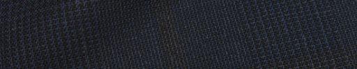 【Ca_02s002】ネイビー・黒グレンプレイド+10×8cmブラウンペーン
