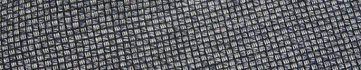 【Jp_0s013】シルバーグレーファンシー+1.5ミリ黒チェック