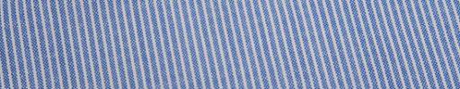 【Jp_0s016】ライトブルーグレー+2ミリ巾白ストライプ