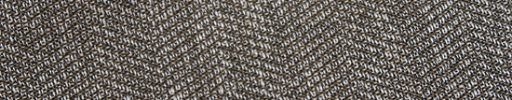 【Jp_0s022】ブラウン白ミックス3cm巾ヘリンボーン