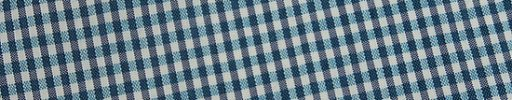 【Jp_0s040】ミントグリーン・黒・白6×4ミリギンガムチェック