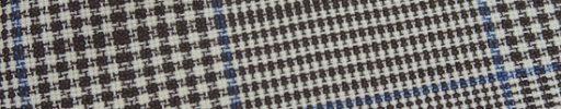 【Jp_0s050】ブラウン11×10cmグレンプレイド+ブループレイド