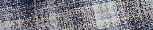 【Jp_0s064】ネイビー・ブラウン・ライトブルー・白9×8cmミックスチェック