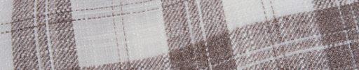 【Jp_0s066】ホワイト+6×5cmブラウンチェック