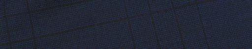 【Jp_0s067】ネイビーピンチェック+9×8cm織りプレイド