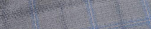 【Jp_0s073】ライトグレー+5×4.5cmライトブルー・グレーチェック