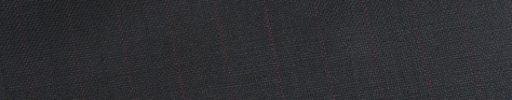 【Bh_0s13】ダークネイビー+1cm巾織り・エンジ交互ストライプ
