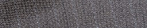 【Bh_0s19】グレージュ+1.4cm巾白ドット・織り交互ストライプ