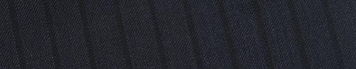【Bh_0s40】ダークネイビー+1cm巾織りストライプ