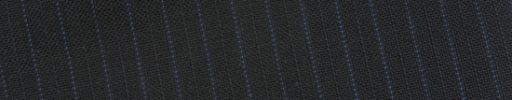 【Bs_0s051】ブラック柄+6ミリ巾ブルードット・織り交互ストライプ