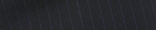 【Bs_0s052】ネイビー柄+6ミリ巾ブルードット・織り交互ストライプ