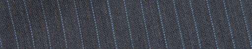 【Bs_0s053】ミディアムグレー柄+6ミリ巾ライトブルードット・織り交互ストライプ