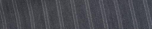 【Bs_0s059】ミディアムグレー+9ミリ巾ドットストライプ