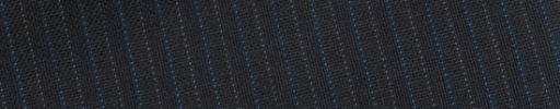 【Bs_0s127】ブラックシャドウ柄+6ミリ巾ブルー・グレー交互ストライプ