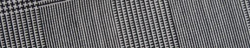 【Bs_0s137】白・黒5.5×4.5cmグレンチェック