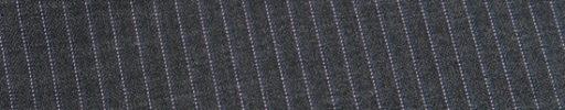 【Cu_0s15】チャコールグレー+5ミリ巾ピンク・ペールブルーストライプ
