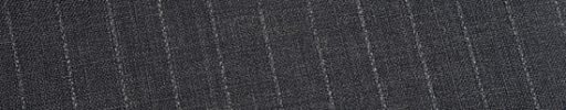 【Ed_0s213】ミディアムグレー+1.1cm巾白・織り交互ストライプ