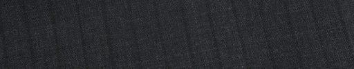 【Ed_0s225】チャコールグレー+9ミリ巾黒織りストライプ