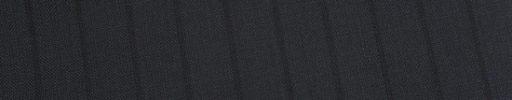 【Ed_0s226】ダークネイビー+1.2cm巾黒織りストライプ
