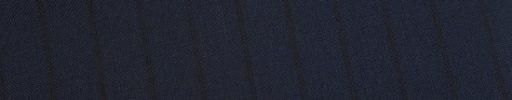 【Ed_0s227】ネイビー+1.2cm巾黒織りストライプ