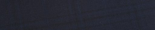 【Ed_0s230】ダークネイビー+6×5cm黒織り・ブルーチェック