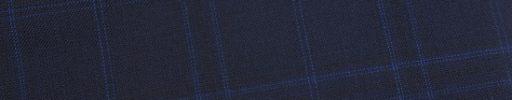 【Ed_0s231】ライトネイビー+6×5cmブルー・黒オーバーチェック