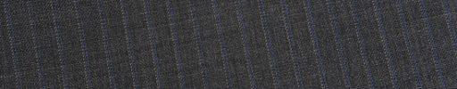 【Ed_0s237】ミディアムグレー+6ミリ巾パープル・ピンクストライプ