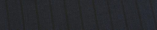 【Ed_0s241】ダークネイビーピンチェック+1.2cm巾黒ストライプ