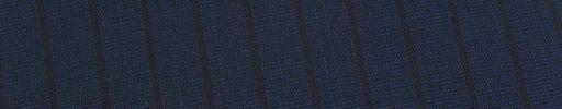 【Ed_0s242】ネイビーピンチェック+1.2cm巾黒ストライプ