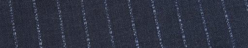 【Ed_0s252】ブルーグレー+1.1cm巾白ファンシー・織り交互ストライプ