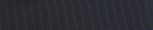 【Ed_0s259】ダークネイビー+6ミリ巾ブルードット・織りストライプ