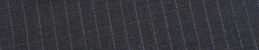 【Ed_0s260】ミディアムグレー+6ミリ巾ライトブルードット・織りストライプ