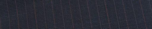 【Ed_0s280】ブルーグレーピンチェック+1.4cm巾赤・グレー交互ストライプ
