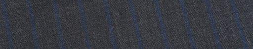 【Ed_0s281】グレーヘリンボーン+1.2cm巾ブルーストライプ