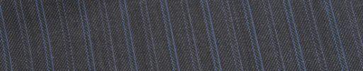 【Ed_0s284】ミディアムグレー+1.4cm巾水色・パープル交互ダブルストライプ
