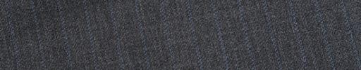 【Ed_0s294】ミディアムグレー柄+8ミリ巾ライトブルードット・織り交互ストライプ