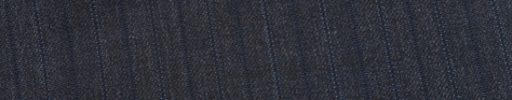 【Ed_0s298】ダークグレー柄+1.4cm巾織り・ライトブルードット交互ストライプ