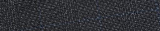 【Ed_0s300】チャコールグレーグレンチェック+5.5×4.5cm水色ドットペーン